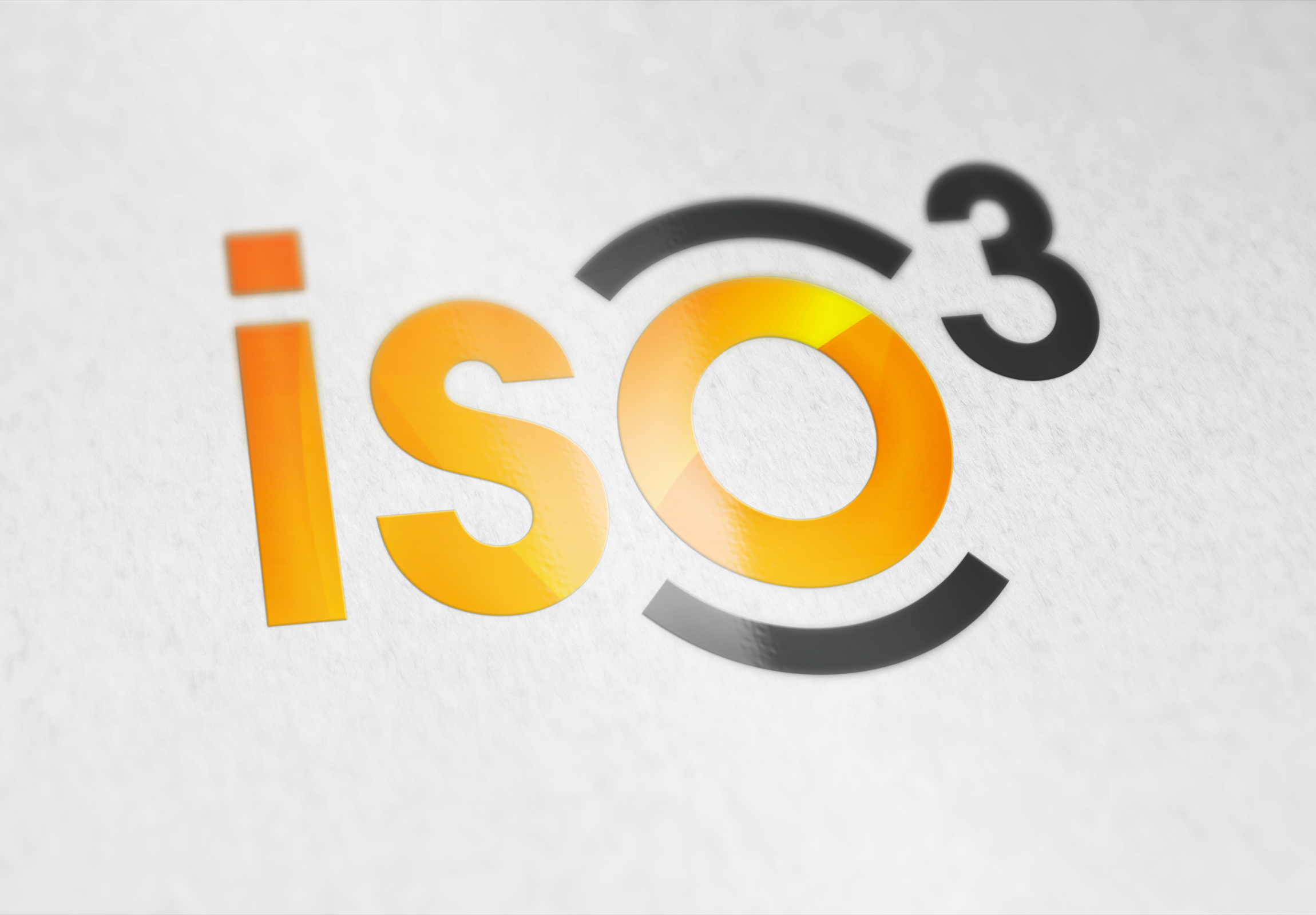 Logo iso3 realisation graphique creation