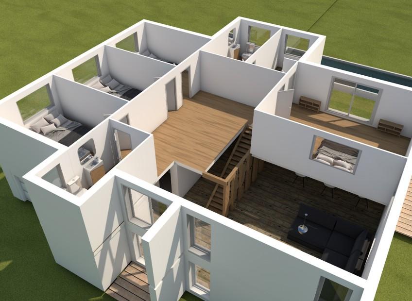 Rendu 3D Architecture graphiste belgique